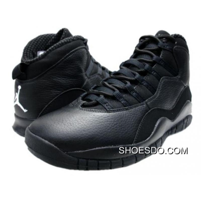 jordan 10 retro men black and white