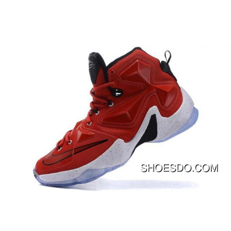 Nike Lebron 13 Red/White Away New Release ...