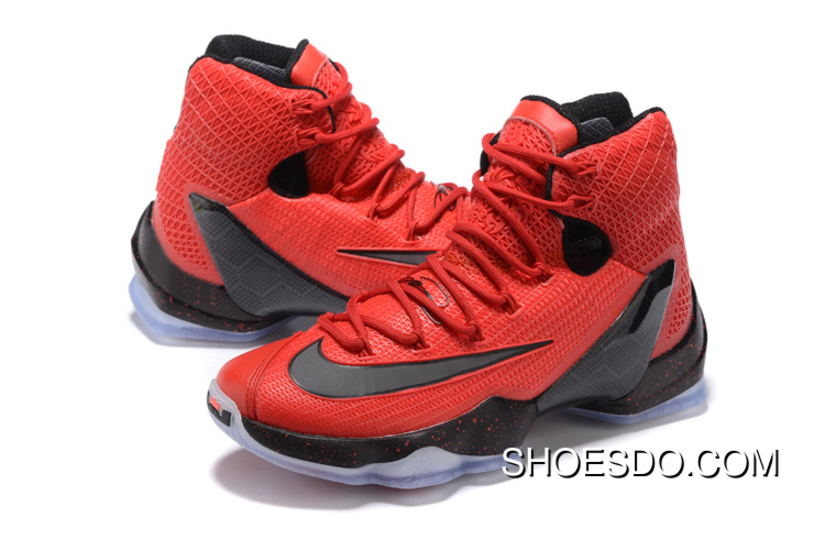 pretty nice 16ca8 a1001 Men Nike Lebron 13 Red Black Basketball Shoes For Sale