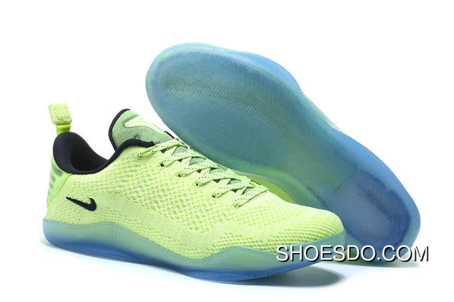 b219b2a64a58 Cheap Nike Kobe 11 4KB Volt Black Top Deals